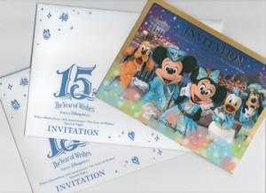 """東京ディズニーシー15周年""""The Year of Wish スペシャルナイト"""