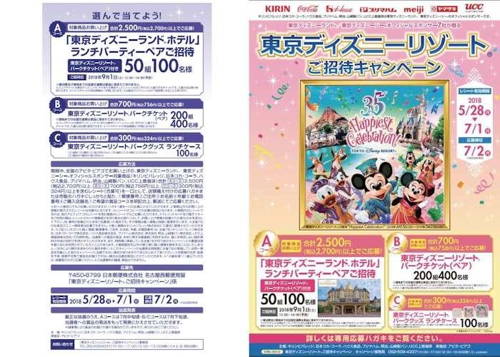 アピタ ディズニーキャンペーン 2018-7-1締切