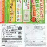 フィール×カゴメ「もっと!もっと!野菜をとろうキャンペーン」2020/6/24〆